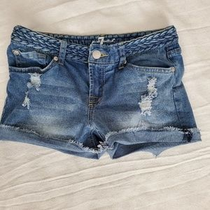 7 For All Mankind Girls Shorts 12